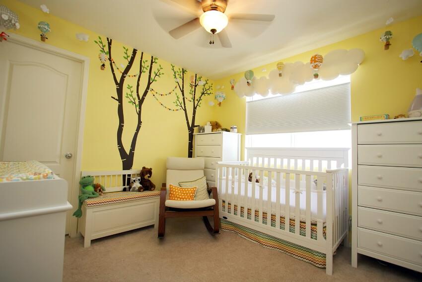 Çocuk odalarında kullanılan renkler