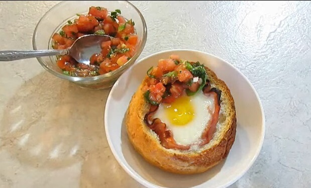 Gobit ekmekte yumurta
