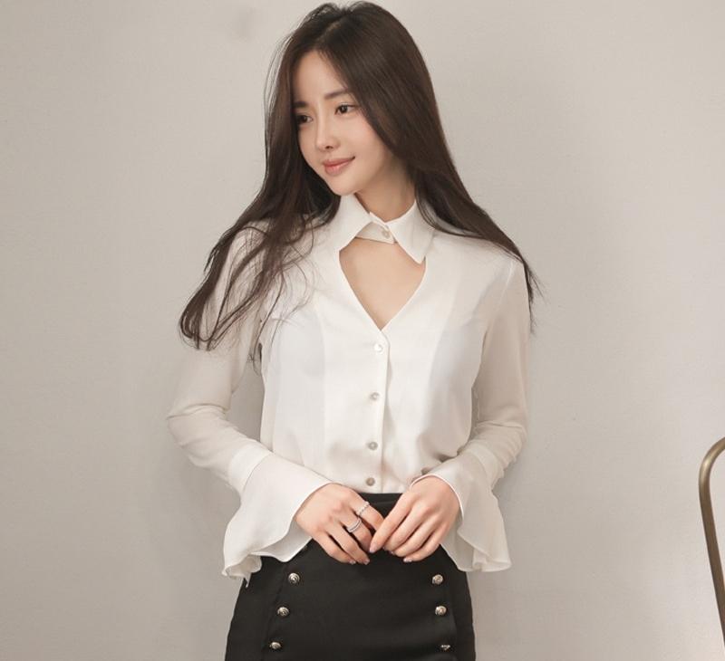 Modern bayan gömlek modelleri