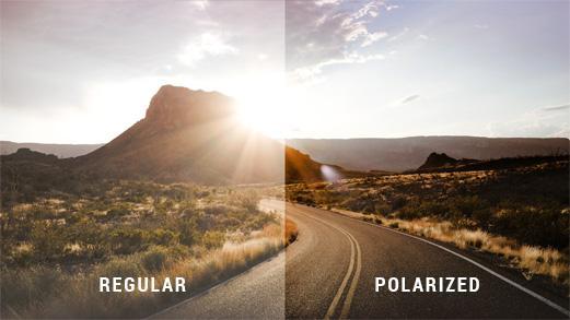 güneş gözlüklerinde polarize cam