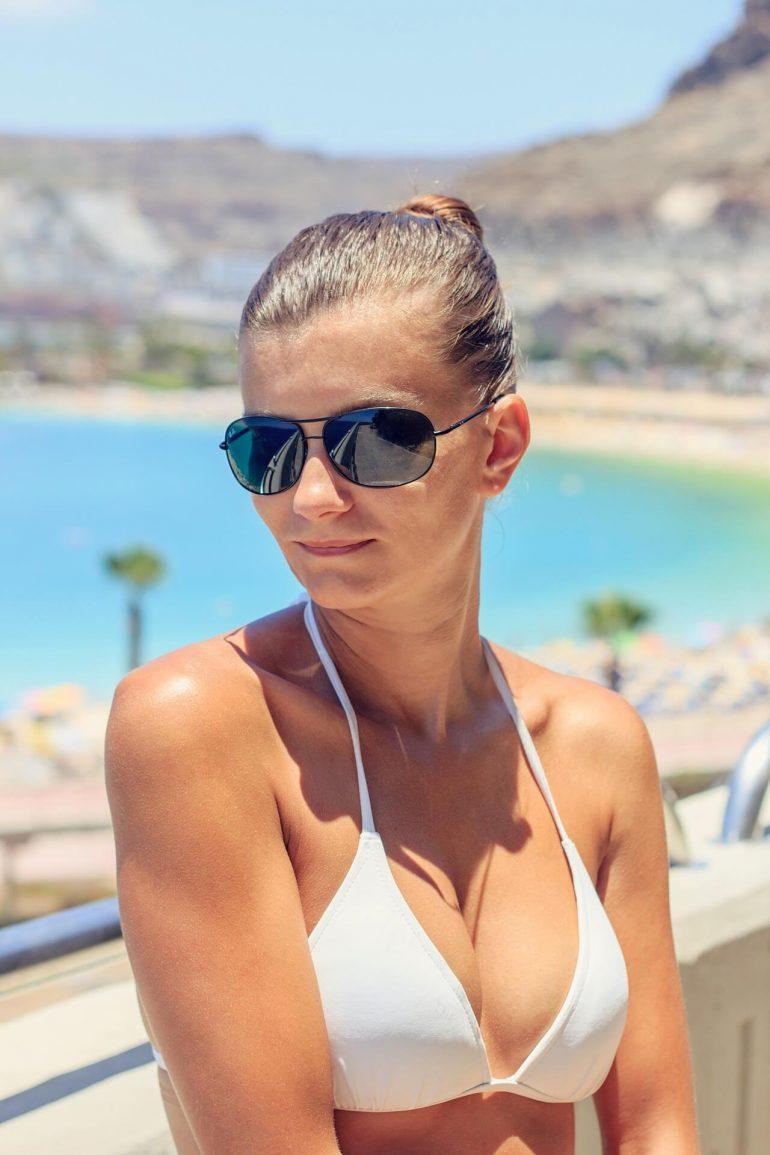 Beyaz bikini modelleri