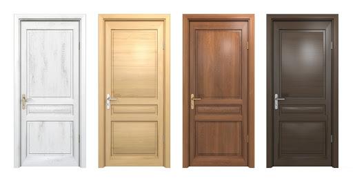 Rustikli panel kapı