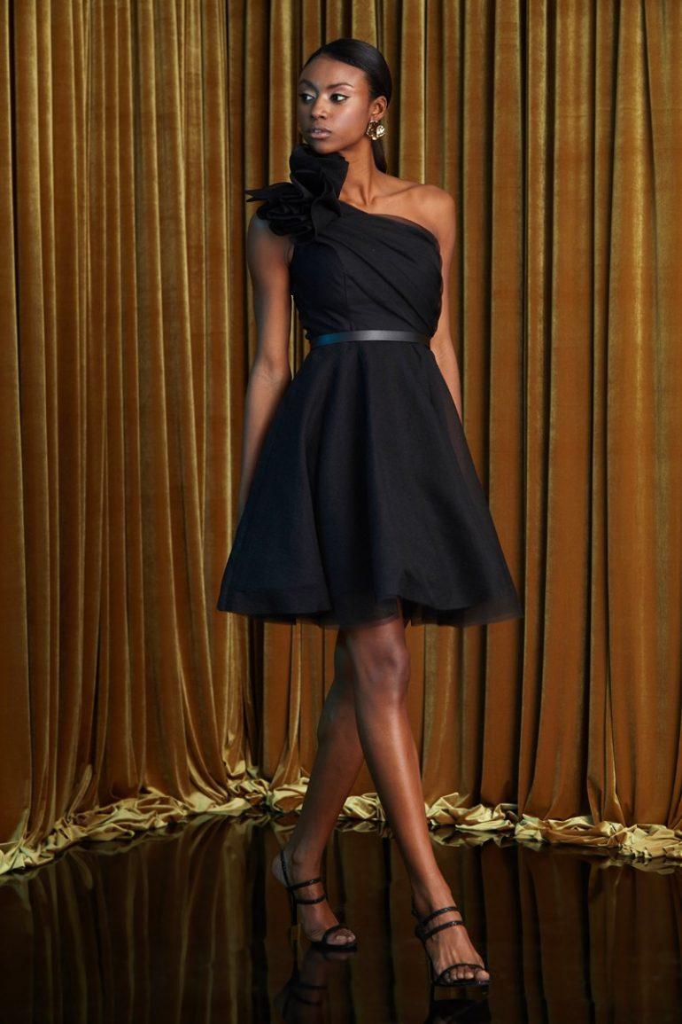keikei kısa mezuniyet elbisesi