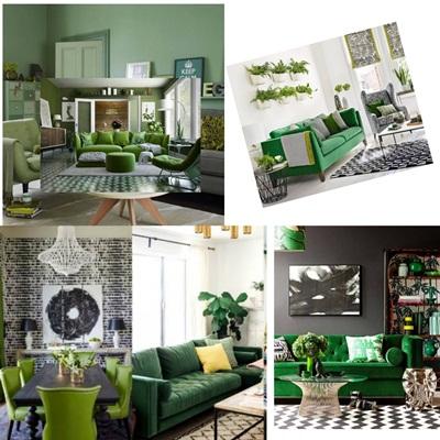 Yeşil tonları ev dekorasyonuna nasıl etki eder?