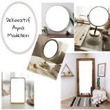 İç Mekan Dekorasyonunda Ayna Kullanımı Hakkında İpuçları